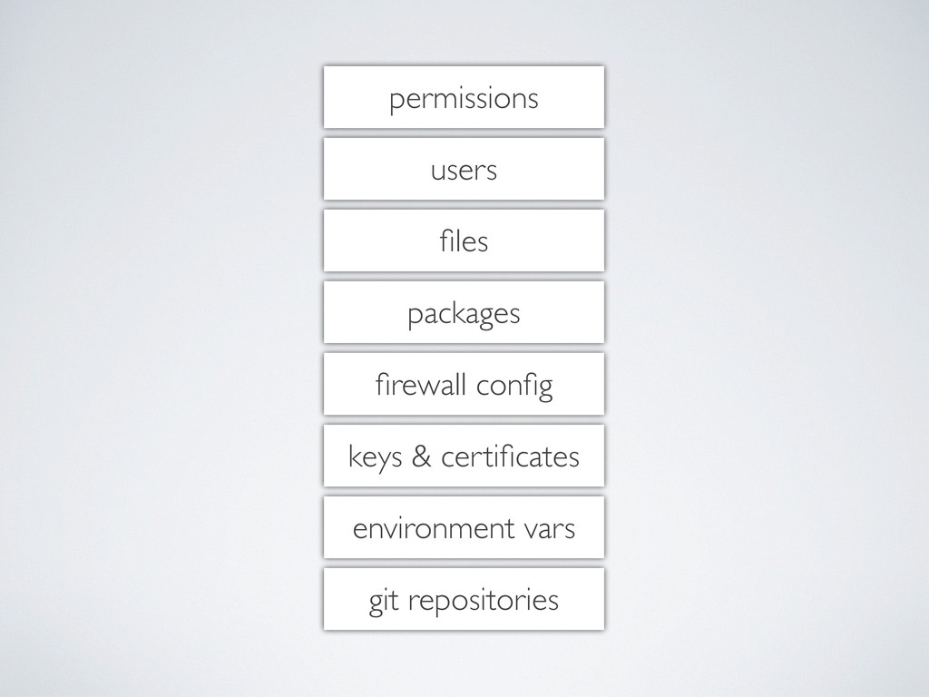 permissions users files packages firewall config k...