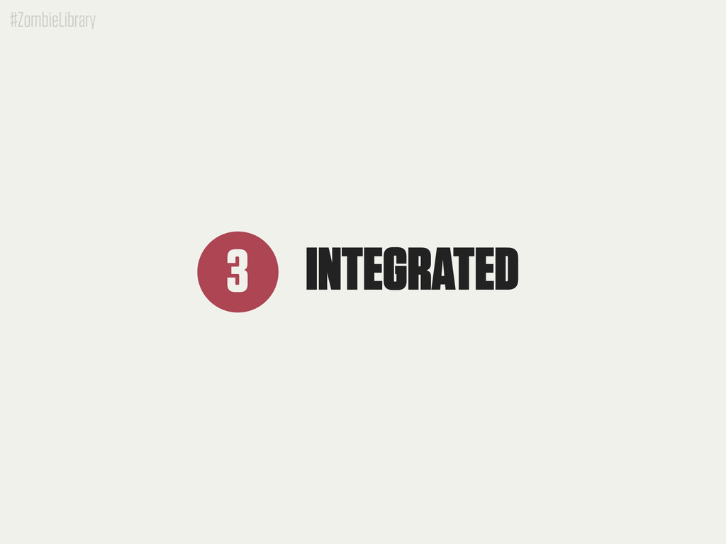 #ZombieLibrary INTEGRATED 3