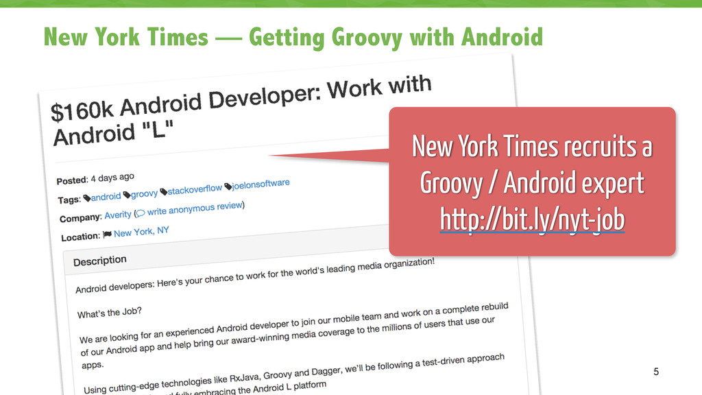 New York Times — Getting Groovy with Android 5 ...