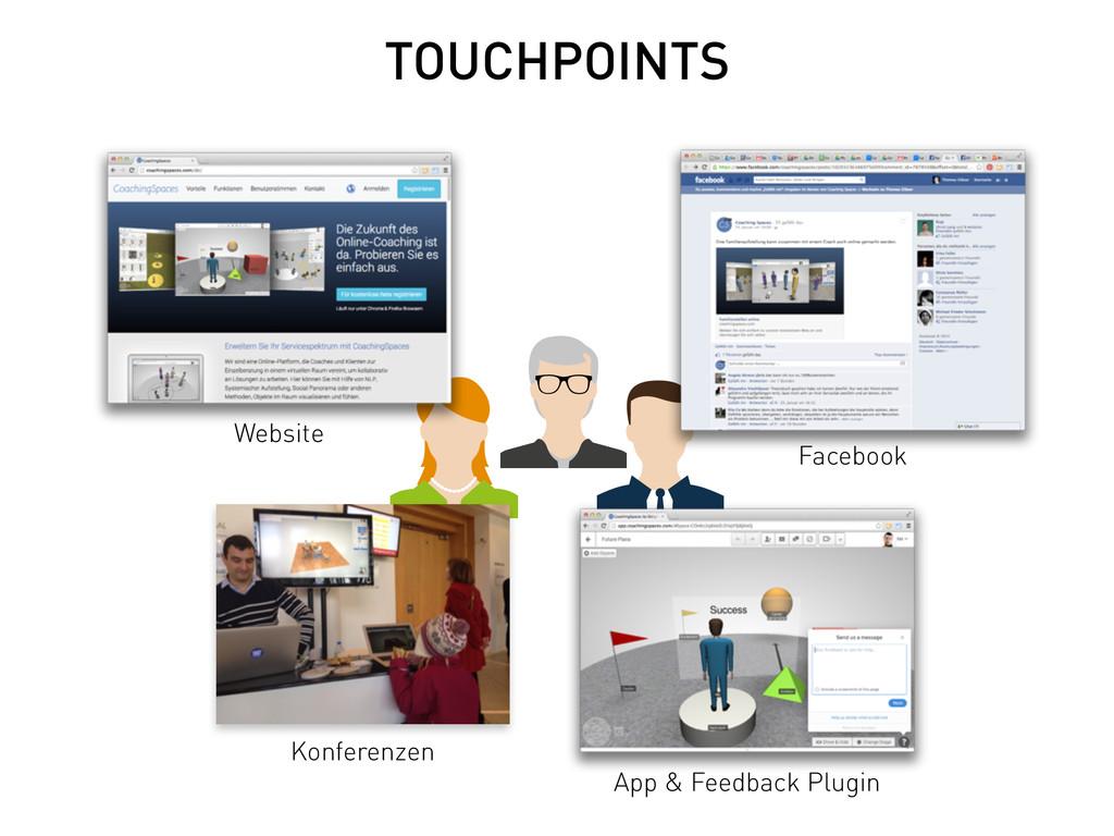 TOUCHPOINTS Facebook Website Konferenzen App & ...