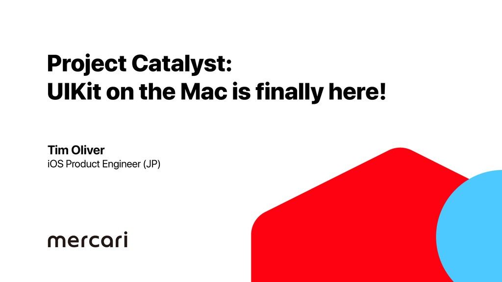 Project Catalyst: UIKit on the Mac is finally h...