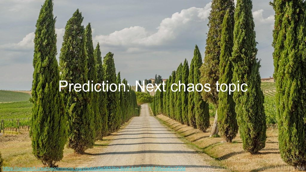 Prediction: Next chaos topic https://ccsearch.c...
