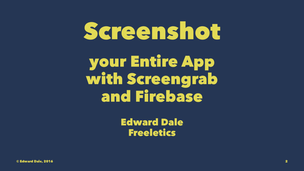 Screenshot your Entire App with Screengrab and ...