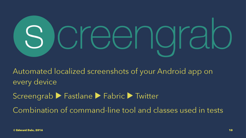 Automated localized screenshots of your Android...
