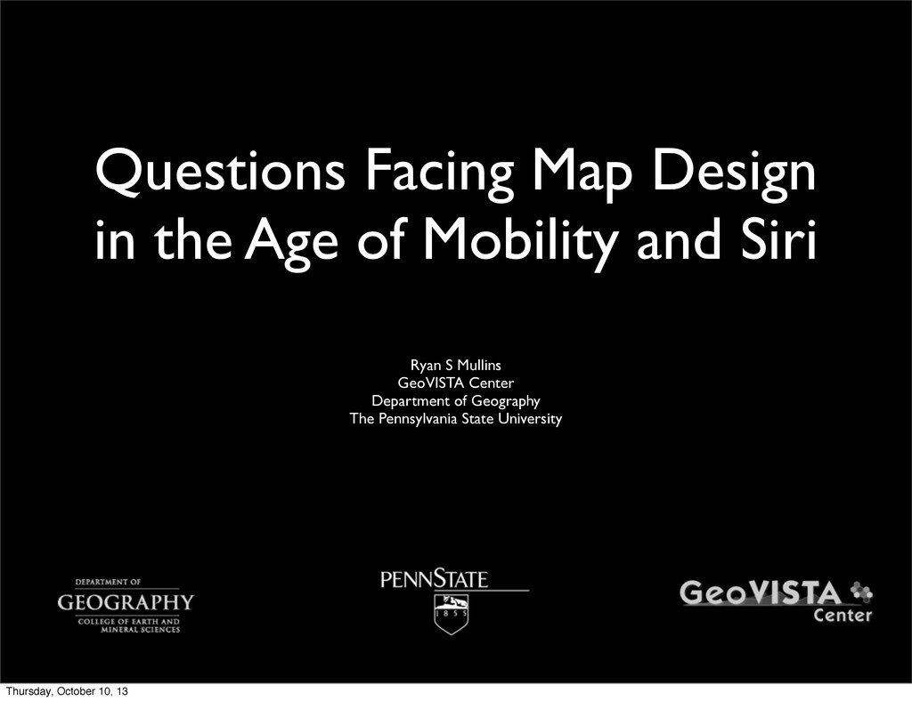Questions Facing Map Design in the Age of Mobil...
