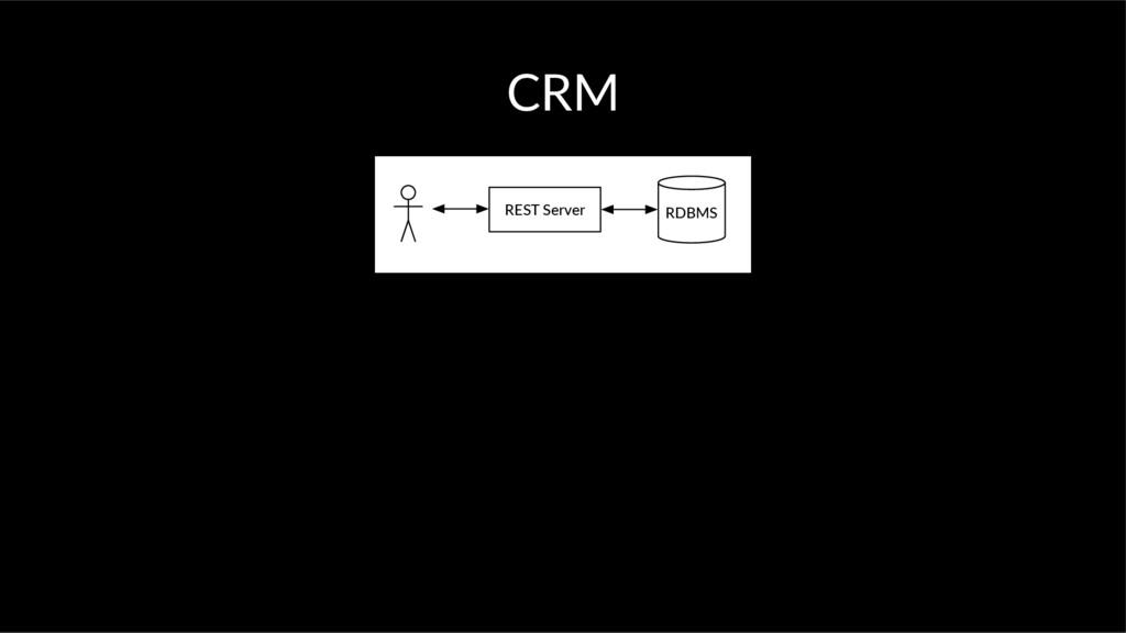 CRM RDBMS REST Server