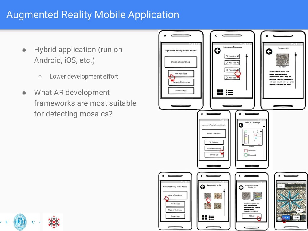 Augmented Reality Mobile Application ● Hybrid a...