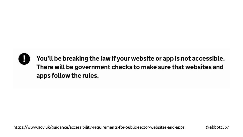 @abbott567 https://www.gov.uk/guidance/accessib...