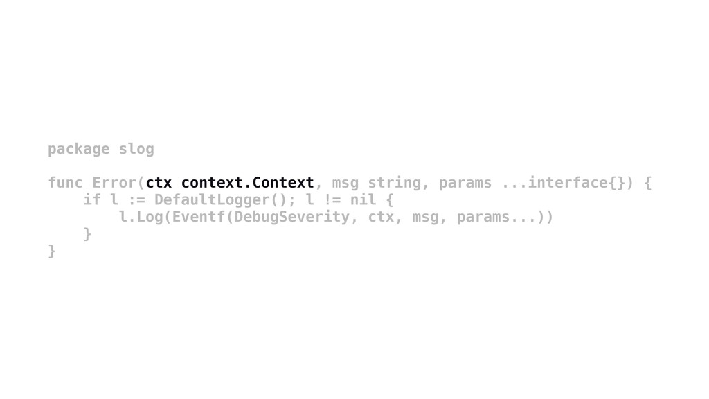package slog