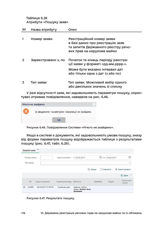 178 VI. Державна реєстрація речових прав на нер...