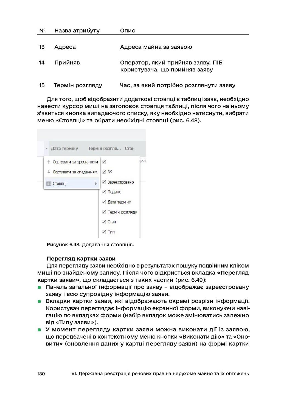 180 VI. Державна реєстрація речових прав на нер...