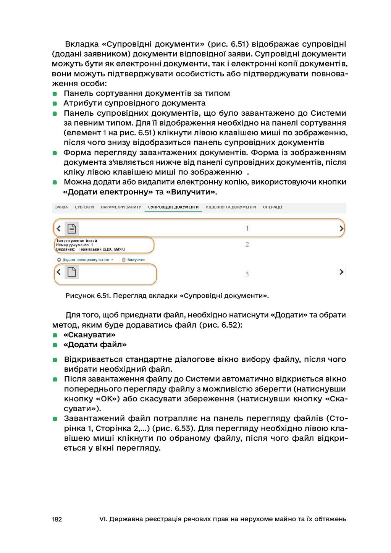 182 VI. Державна реєстрація речових прав на нер...