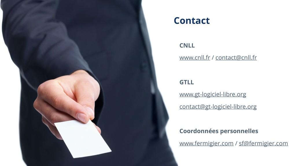Contact CNLL www.cnll.fr / contact@cnll.fr GTLL...
