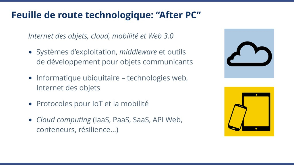 """Feuille de route technologique: """"After PC"""" Inte..."""