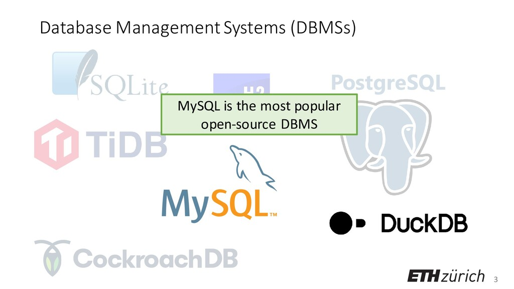 3 PostgreSQL Database Management Systems (DBMSs...