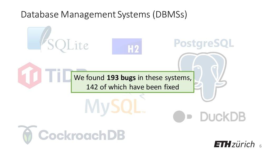 6 Database Management Systems (DBMSs) PostgreSQ...
