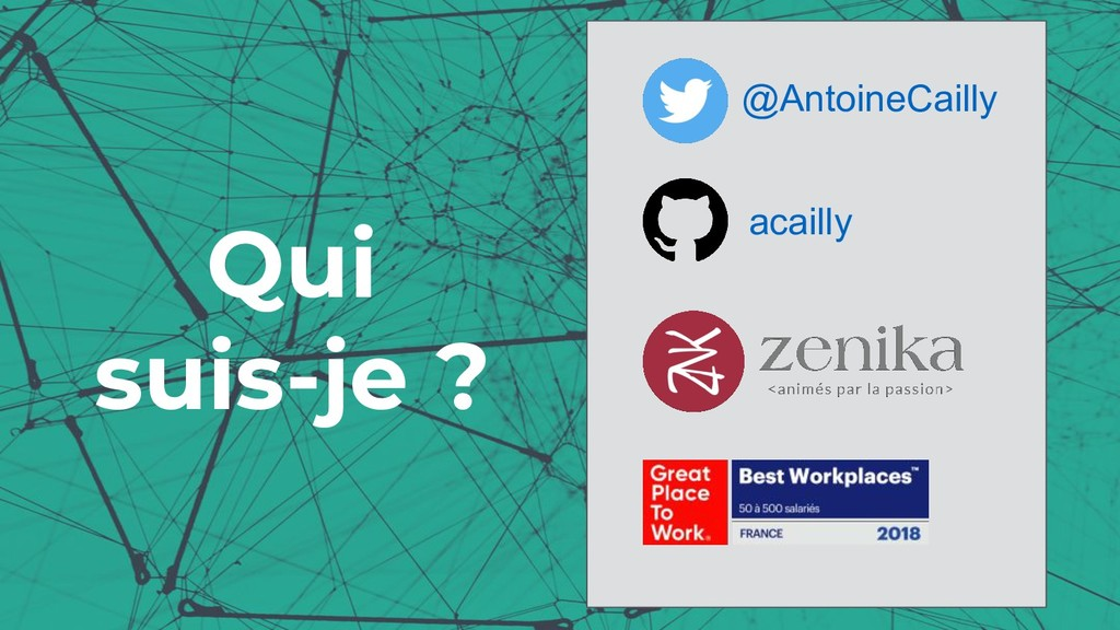 Qui suis-je ? @AntoineCailly acailly