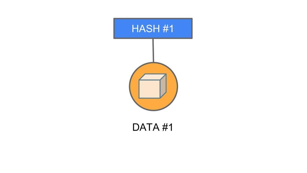 DATA #1 HASH #1