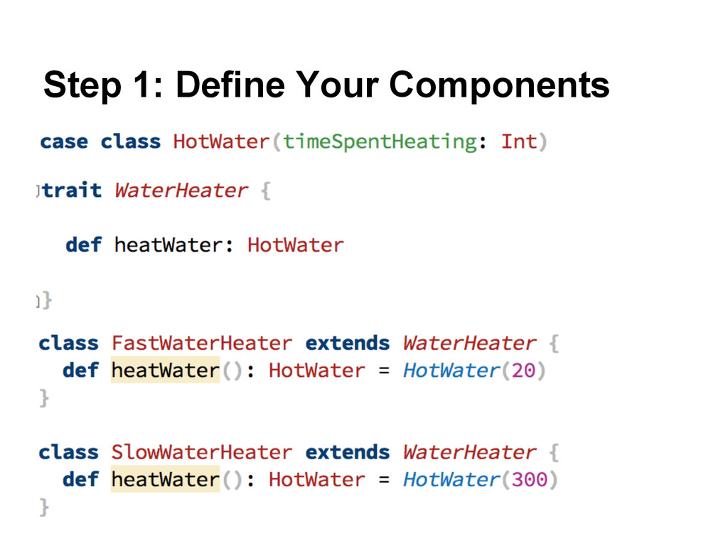 Step 1: Define Your Components