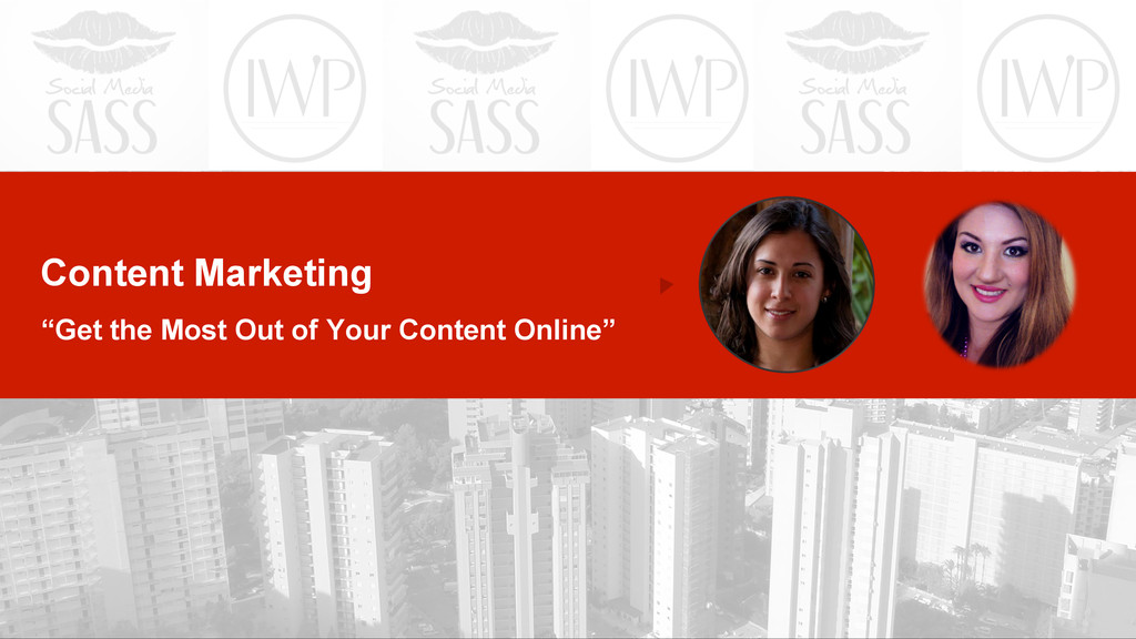 """Content Marketing """"Get the Most Out of Your Con..."""