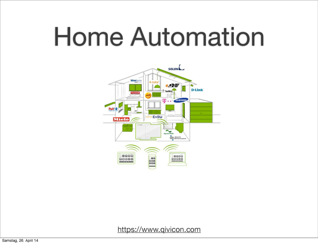 https://www.qivicon.com Home Automation Samstag...