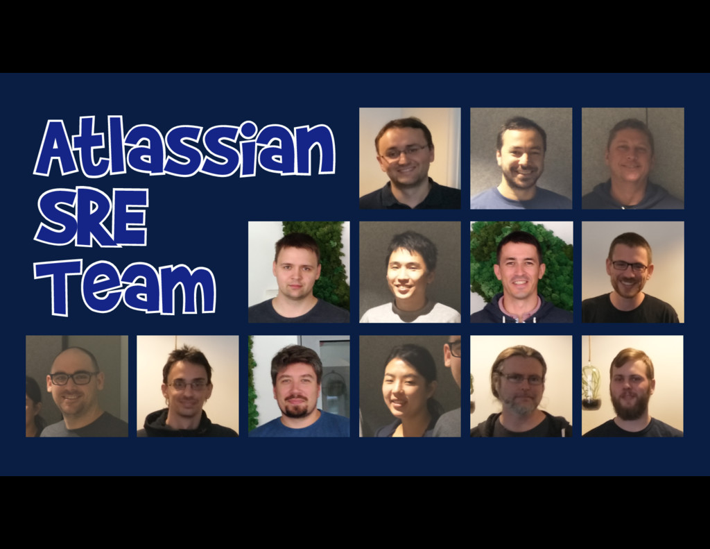 Atlassian SRE Team Atlassian SRE Team