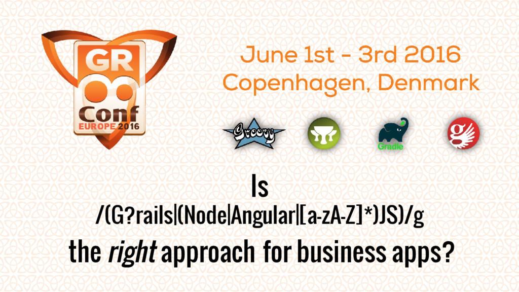 Is /(G?rails (Node Angular [a-zA-Z]*)JS)/g the ...
