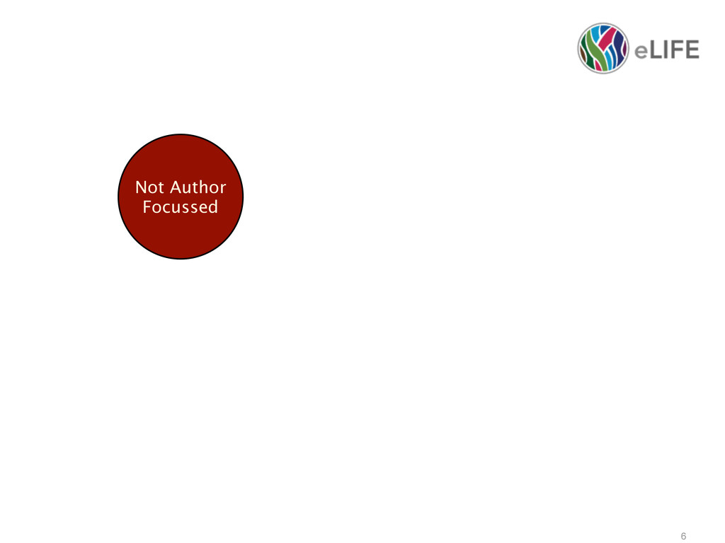 6 Not Author Focussed