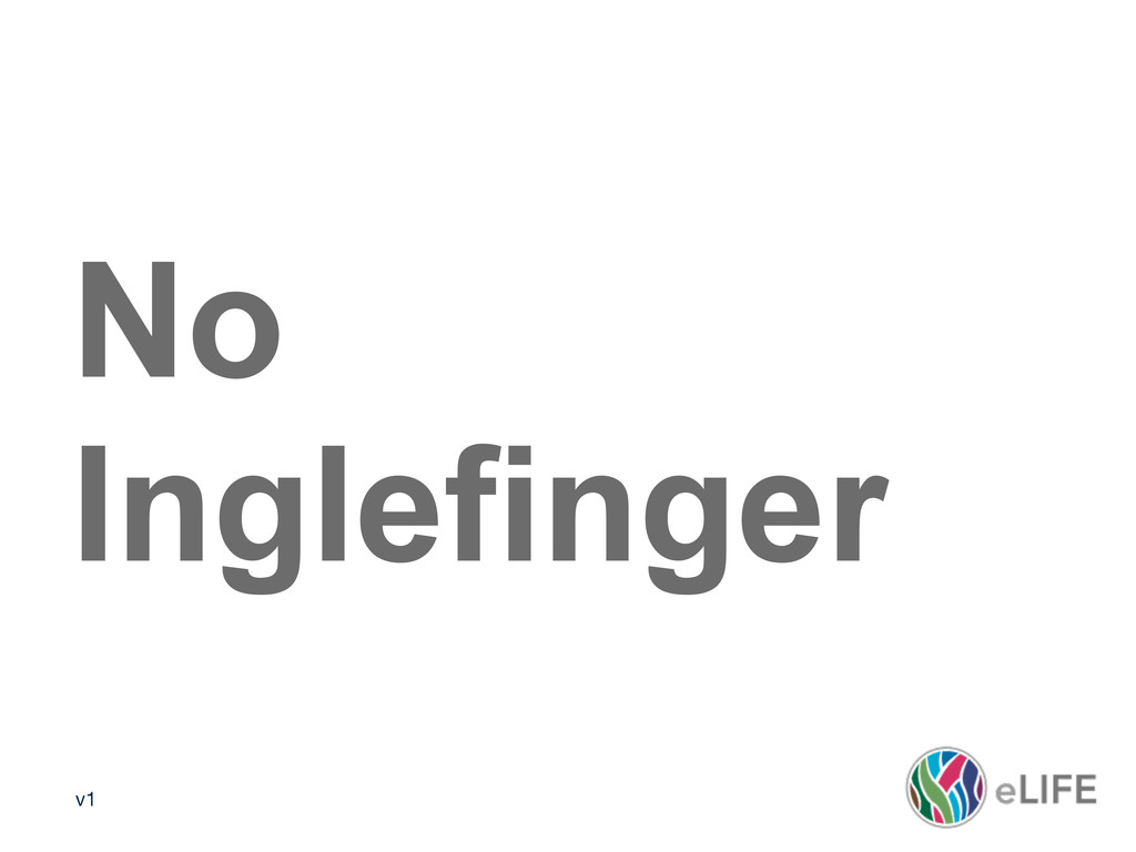 v1 No Inglefinger