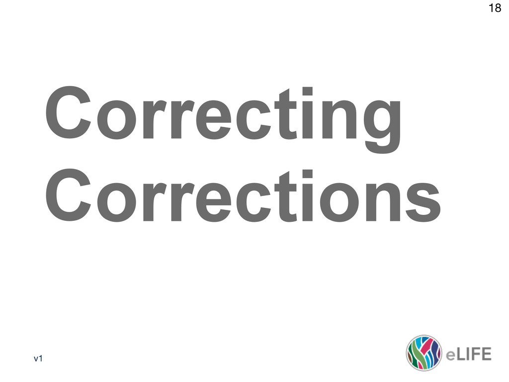 v1 18 Media policy 2 Correcting Corrections