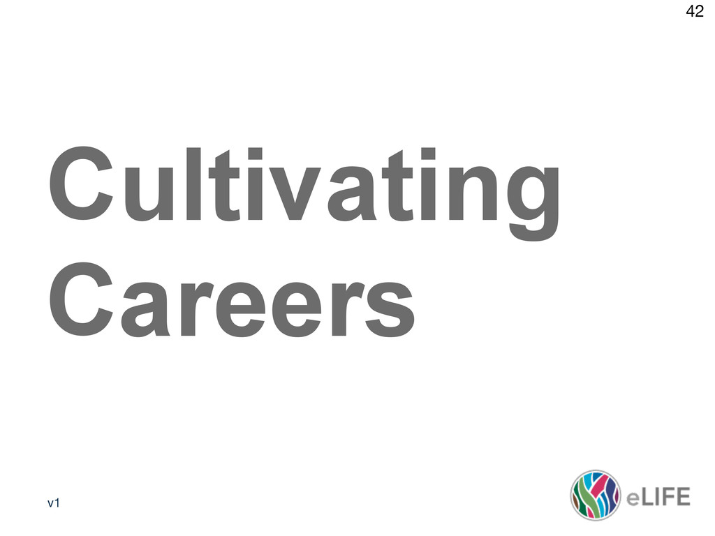 v1 42 Media policy 2 Cultivating Careers