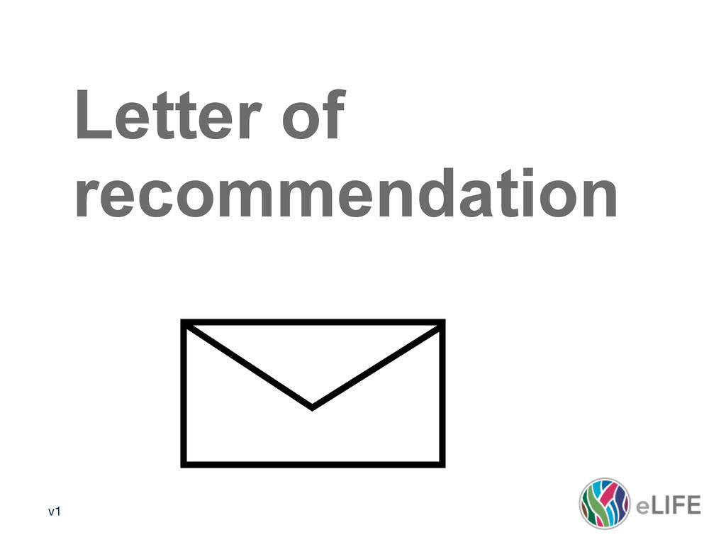 v1 Media policy 2 Letter of recommendation