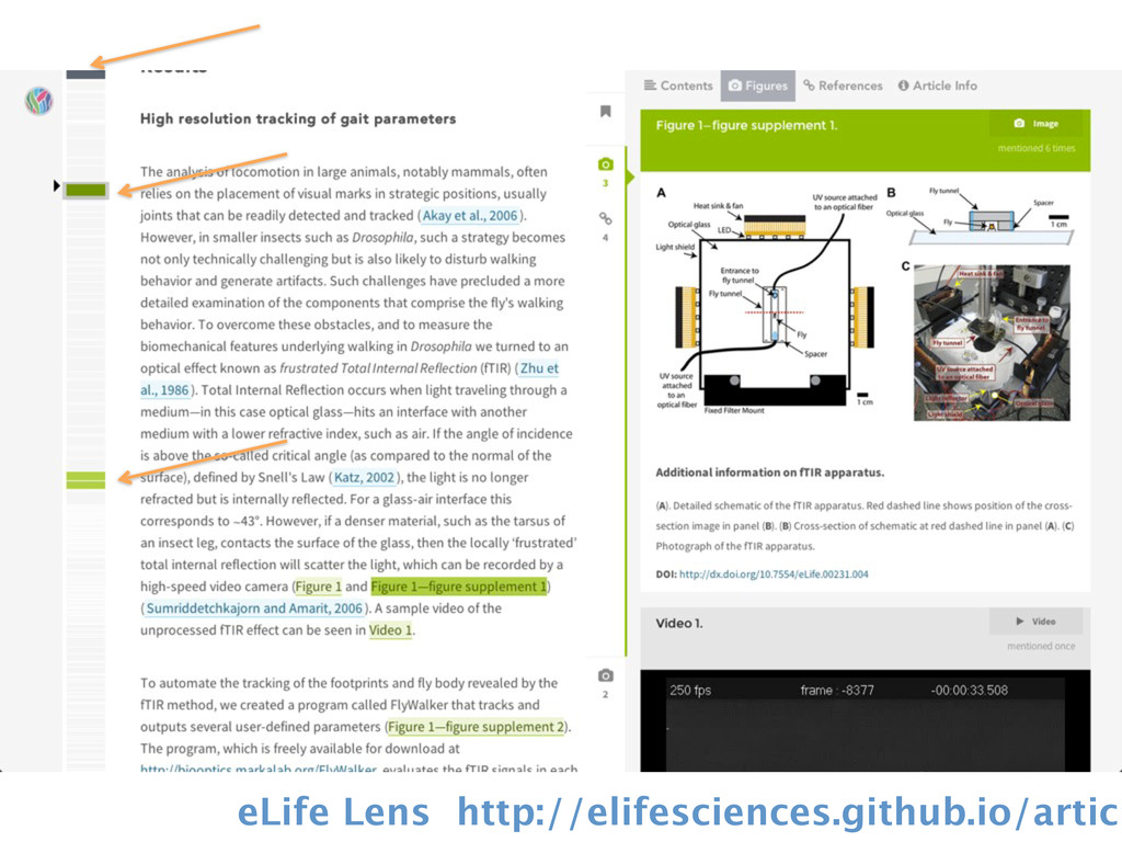 eLife Lens http://elifesciences.github.io/articl