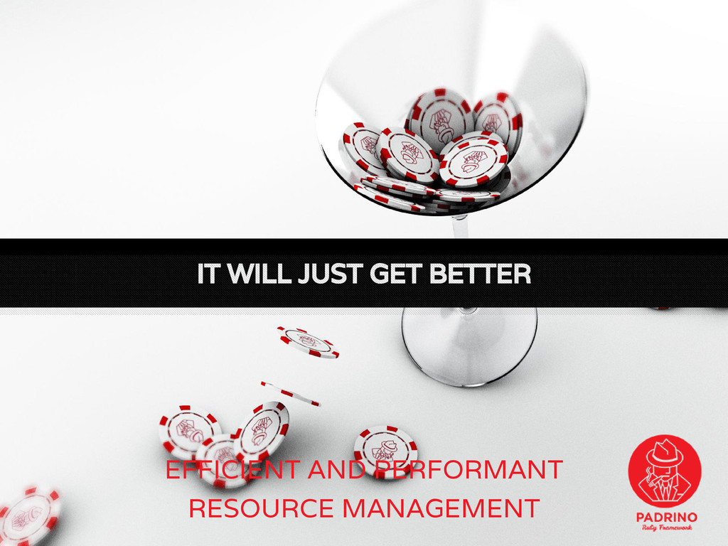 EFFICIENT AND PERFORMANT RESOURCE MANAGEMENT IT...