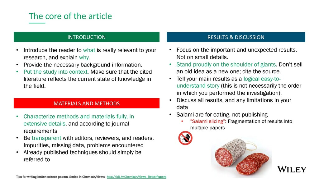 The core of the article MATERIALS AND METHODS I...