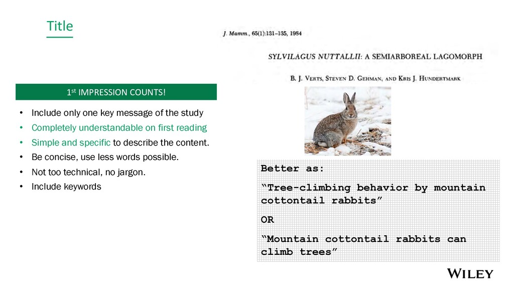 """Title Better as: """"Tree-climbing behavior by mou..."""