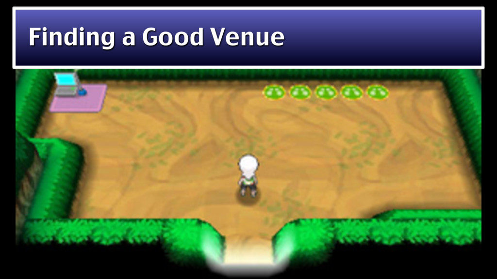 Finding a Good Venue