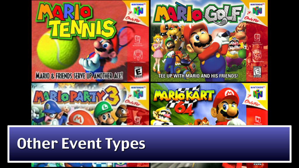 Other Event Types