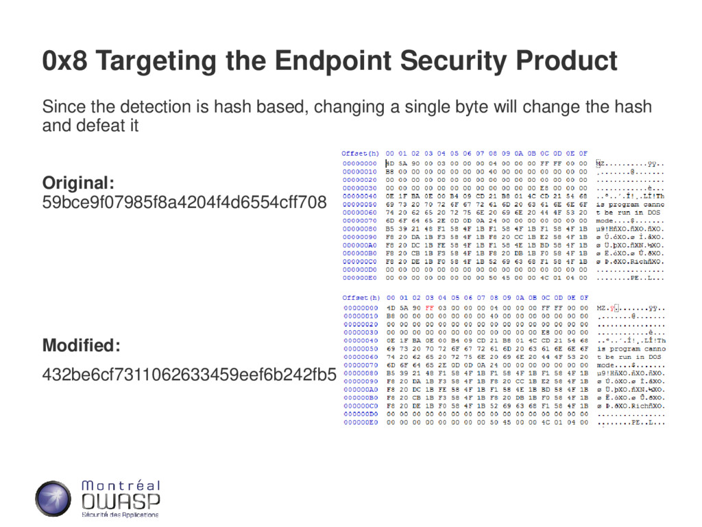 0x8 Targeting the Endpoint Security Product Sin...