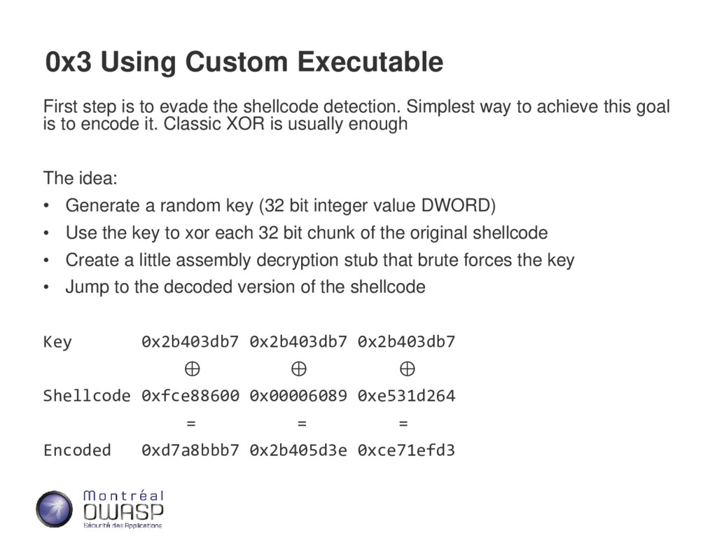 0x3 Using Custom Executable First step is to ev...