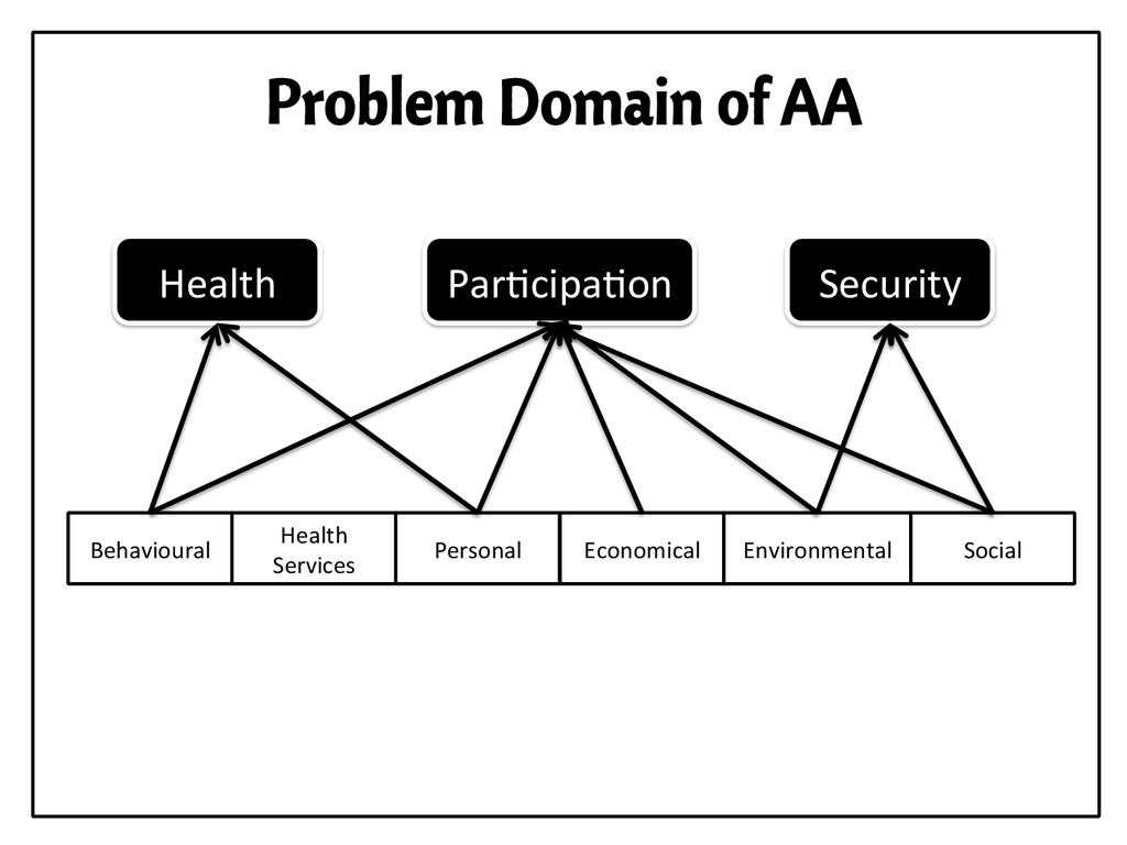 Problem Domain of AA Personal  Health  Se...