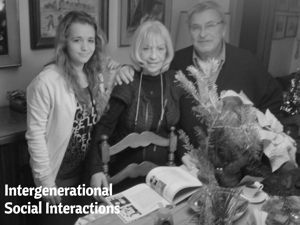 Intergenerational Social Interactions