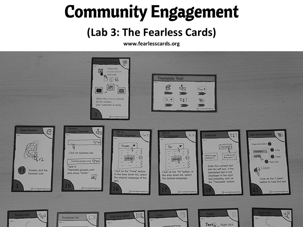 Community Engagement (Lab 3: The Fearl...