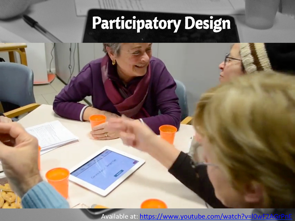 Participatory Design Available at: hUps:/...