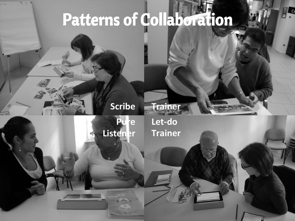 Patterns of Collaboration Scribe  Trainer ...