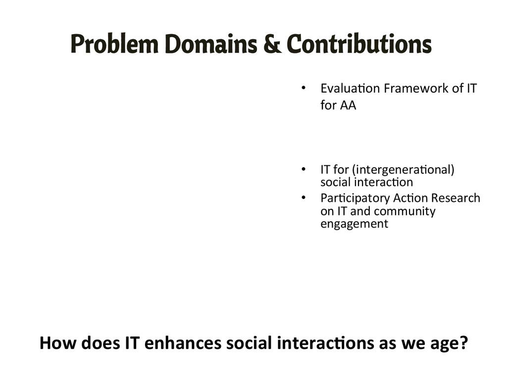 • Evalua,on Framework of IT  for...