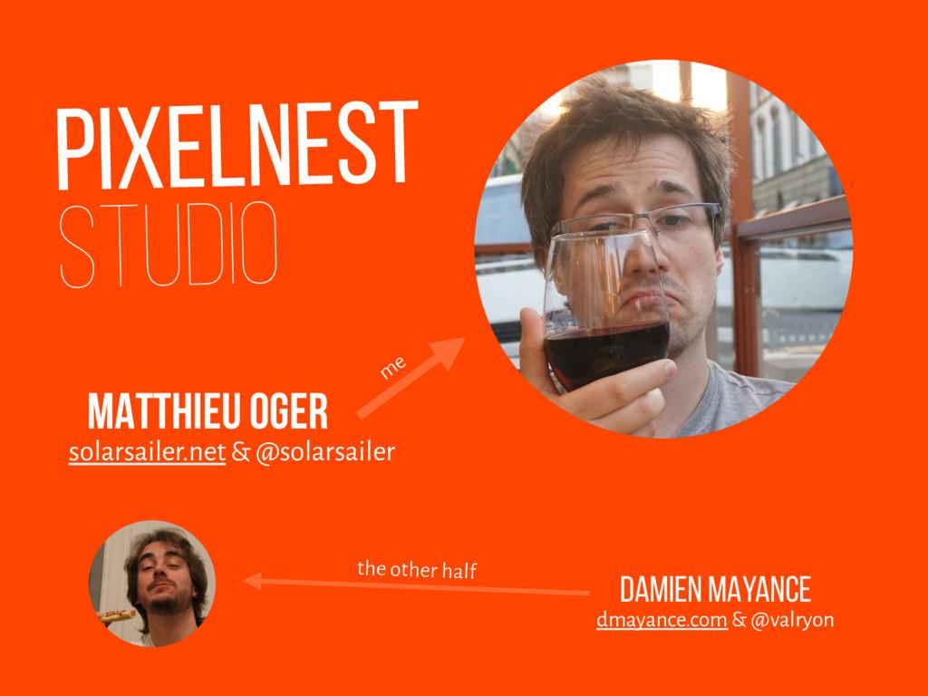 PIXELNEST STUDIO solarsailer.net & @solarsailer...