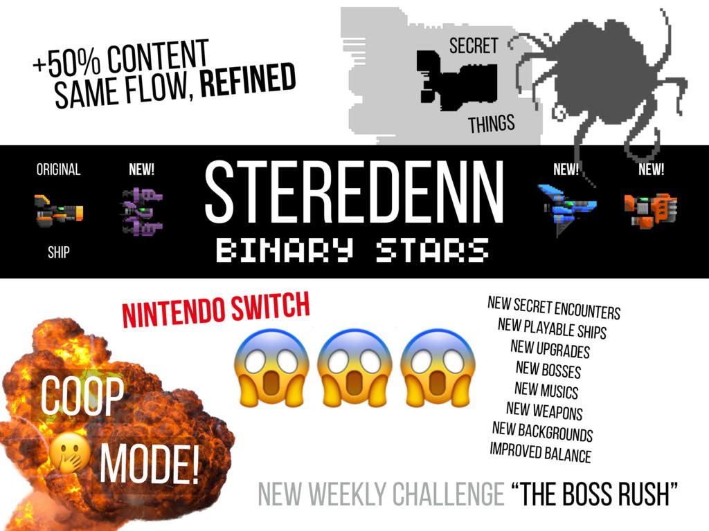 STEREDENN BINARY STARS +50% Content COOP MODE! ...