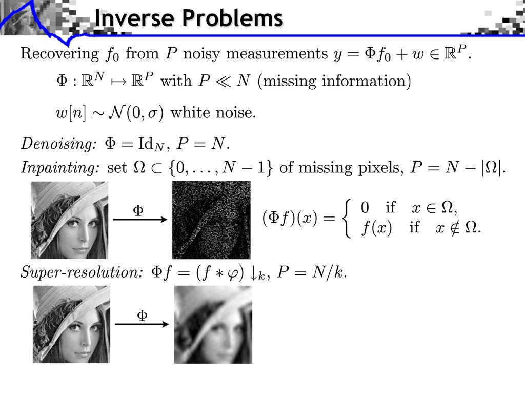 Inverse Problems