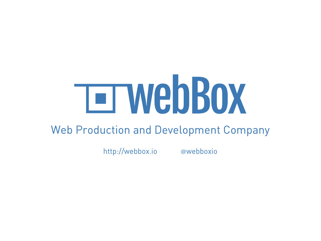 Web Production and Development Company http://w...